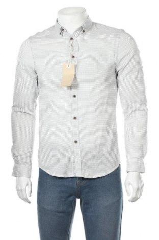 Мъжка риза Tom Tailor, Размер S, Цвят Бял, Памук, Цена 15,87лв.