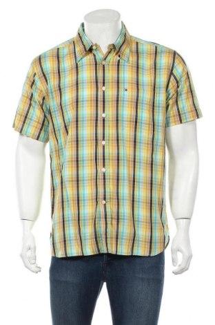 Мъжка риза Tommy Hilfiger, Размер L, Цвят Многоцветен, Памук, Цена 28,50лв.