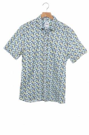 Мъжка риза Zara, Размер S, Цвят Многоцветен, Цена 8,82лв.