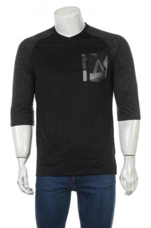 Bluză trening de bărbați Adidas, Mărime M, Culoare Negru, Poliester, Preț 75,44 Lei
