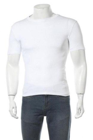 Мъжка тениска, Размер XS, Цвят Бял, Цена 11,88лв.