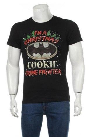 Tricou de bărbați Batman, Mărime S, Culoare Negru, Bumbac, Preț 85,53 Lei