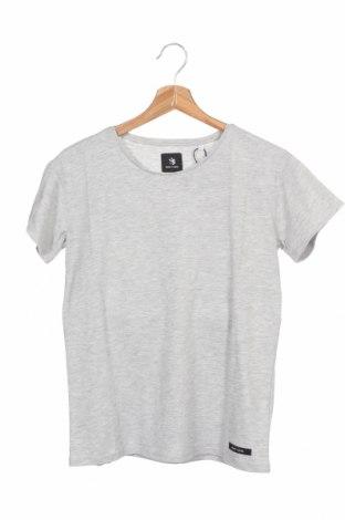 Мъжка тениска Henry I. Siegel, Размер XS, Цвят Сив, 65% памук, 35% полиестер, Цена 9,06лв.
