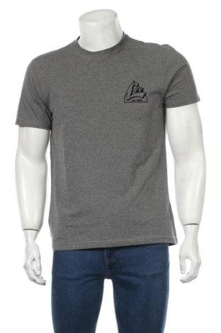 Мъжка тениска Lee, Размер M, Цвят Сив, 50% памук, 50% полиестер, Цена 21,00лв.