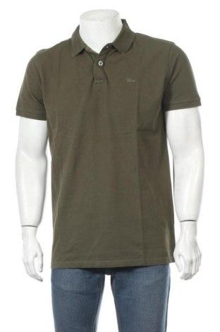 Tricou de bărbați Petrol Industries, Mărime XL, Culoare Verde, Bumbac, Preț 39,11 Lei