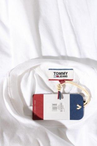 Мъжка тениска Tommy Hilfiger, Размер L, Цвят Бял, Памук, Цена 59,25лв.