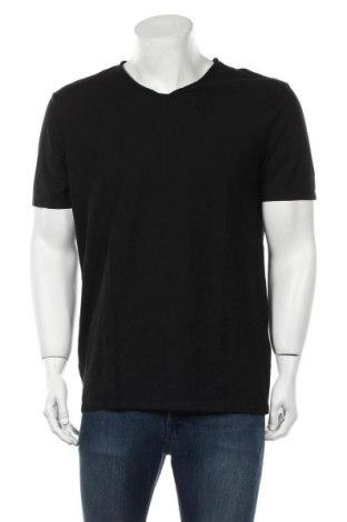Мъжка тениска United Colors Of Benetton, Размер XL, Цвят Черен, Памук, Цена 3,00лв.