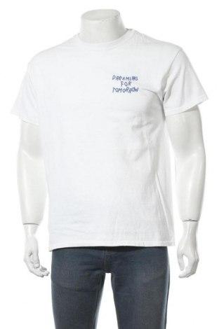 Мъжка тениска Urban Outfitters, Размер S, Цвят Бял, Памук, Цена 21,75лв.