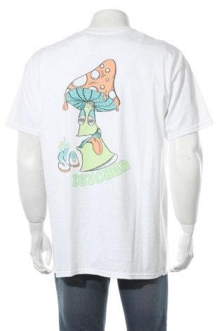 Мъжка тениска Urban Outfitters, Размер M, Цвят Бял, Памук, Цена 44,25лв.