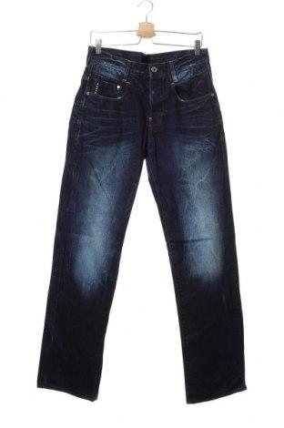 Мъжки дънки G-Star Raw, Размер M, Цвят Син, Памук, Цена 35,91лв.