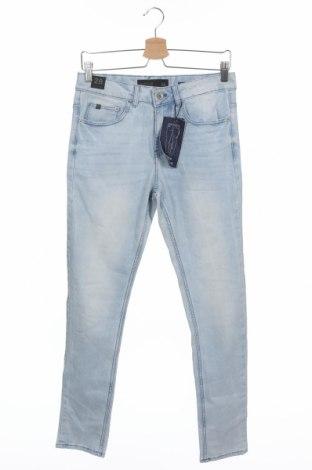 Мъжки дънки Reserved, Размер XS, Цвят Син, 68% памук, 20% полиестер, 11% вискоза, 1% еластан, Цена 44,25лв.