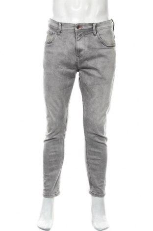 Мъжки дънки Tom Tailor, Размер L, Цвят Сив, 98% памук, 2% еластан, Цена 21,75лв.