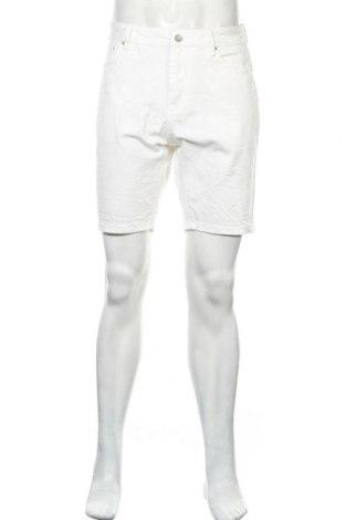 Мъжки къс панталон ASOS, Размер L, Цвят Бял, 99% памук, 1% еластан, Цена 30,75лв.