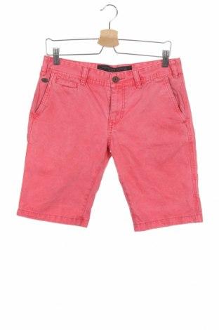 Мъжки къс панталон Alcott, Размер M, Цвят Розов, Памук, Цена 17,55лв.