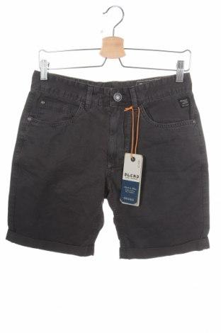 Pantaloni scurți de bărbați Blend, Mărime S, Culoare Gri, Bumbac, Preț 77,63 Lei