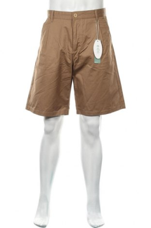 Мъжки къс панталон Edc By Esprit, Размер L, Цвят Кафяв, Памук, Цена 6,18лв.