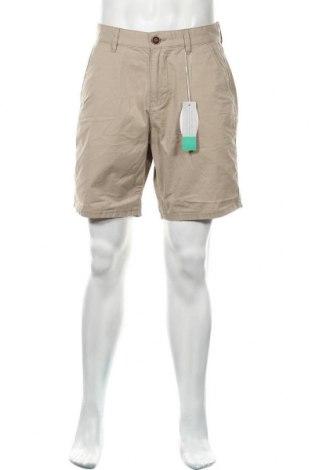 Мъжки къс панталон Edc By Esprit, Размер S, Цвят Бежов, Памук, Цена 12,82лв.