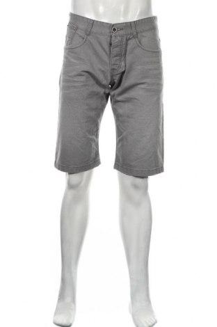 Мъжки къс панталон Edc By Esprit, Размер M, Цвят Сив, Памук, Цена 22,76лв.