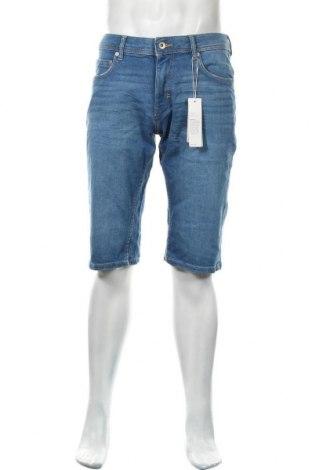 Мъжки къс панталон Esprit, Размер M, Цвят Син, 98% памук, 2% еластан, Цена 28,98лв.