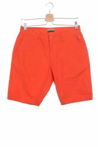 Pantaloni scurți de bărbați Napapijri, Mărime S, Culoare Portocaliu, Bumbac, Preț 207,96 Lei