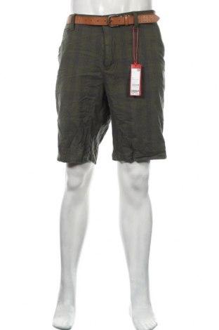 Ανδρικό κοντό παντελόνι S.Oliver, Μέγεθος XL, Χρώμα Πράσινο, 97% βαμβάκι, 3% ελαστάνη, Τιμή 12,45€