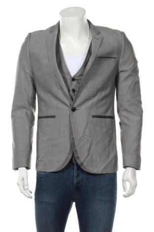 Ανδρικό κοστούμι Yd., Μέγεθος S, Χρώμα Γκρί, 87% πολυεστέρας, 13% βισκόζη, Τιμή 6,54€