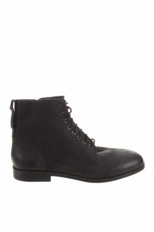 Pánské boty Zara, Velikost 44, Barva Černá, Pravá kůže, Cena  504,00Kč