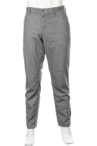 Мъжки панталон Alberto, Размер L, Цвят Сив, 49% памук, 31% полиестер, 17% вискоза, 3% еластан, Цена 12,10лв.