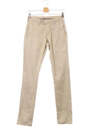 Мъжки панталон Aquila, Размер XS, Цвят Бежов, 98% памук, 2% еластан, Цена 6,83лв.
