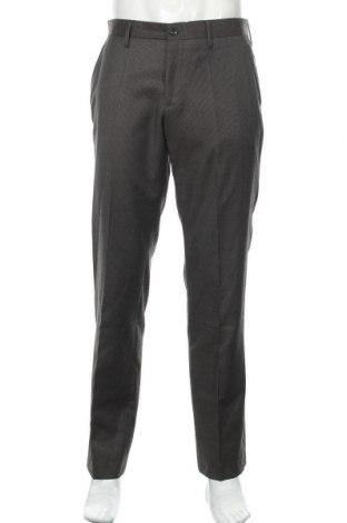 Мъжки панталон Bruuns Bazaar, Размер L, Цвят Кафяв, 55% полиестер, 45% памук, Цена 10,08лв.
