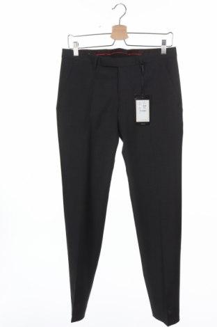 Мъжки панталон Cinque, Размер S, Цвят Сив, 54% полиестер, 44% вълна, 2% еластан, Цена 13,67лв.