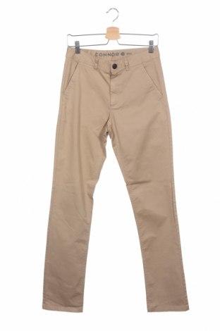 Pánské kalhoty  Connor, Velikost S, Barva Hnědá, 97% bavlna, 3% elastan, Cena  115,00Kč