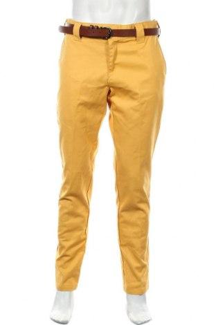 Pantaloni de bărbați Dickies, Mărime L, Culoare Galben, 65% poliester, 35% bumbac, Preț 98,75 Lei