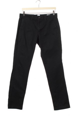 Мъжки панталон Gap, Размер S, Цвят Черен, 98% памук, 2% еластан, Цена 9,26лв.