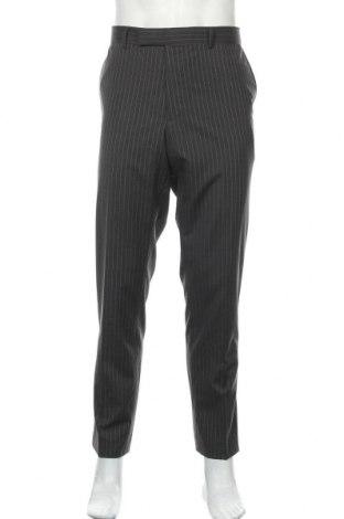 Pantaloni de bărbați Hugo Boss, Mărime XL, Culoare Gri, Bumbac, Preț 76,26 Lei