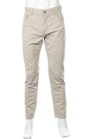 Мъжки панталон Rover&lakes, Размер M, Цвят Бежов, 98% памук, 2% еластан, Цена 7,76лв.