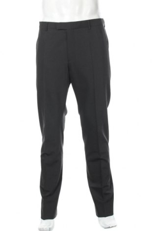 Мъжки панталон Strellson, Размер L, Цвят Черен, 53% полиестер, 43% вълна, 4% еластан, Цена 23,85лв.