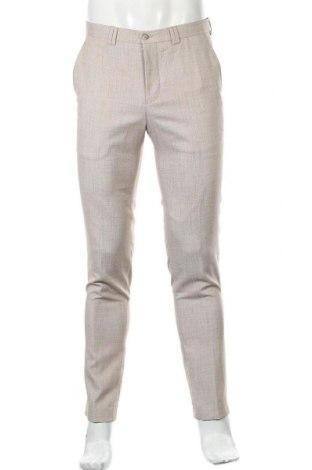 Мъжки панталон Viggo, Размер S, Цвят Бежов, Полиестер, Цена 13,34лв.