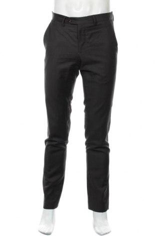 Мъжки панталон Zara Man, Размер S, Цвят Кафяв, Вълна, Цена 8,66лв.
