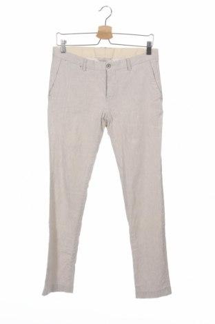 Мъжки панталон Zara Man, Размер M, Цвят Бежов, Цена 10,26лв.
