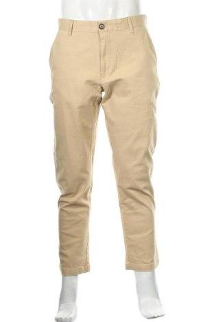 Мъжки спортен панталон Anerkjendt, Размер M, Цвят Бежов, 97% памук, 3% еластан, Цена 24,92лв.