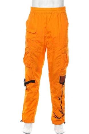 Мъжки спортен панталон Karl Kani, Размер L, Цвят Оранжев, Полиамид, Цена 43,20лв.