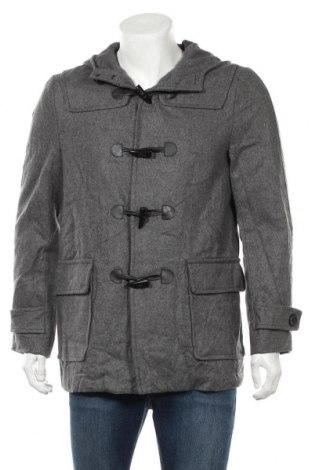 Мъжко палто Twenty One, Размер S, Цвят Сив, Цена 16,28лв.