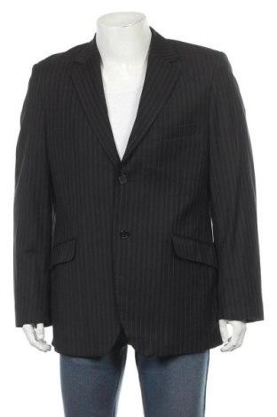 Мъжко сако, Размер M, Цвят Черен, Вълна, Цена 8,40лв.