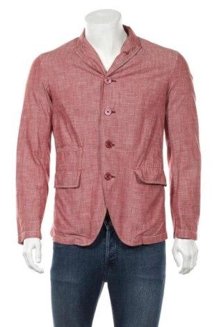 Мъжко сако Armani Jeans, Размер M, Цвят Червен, Памук, Цена 82,60лв.