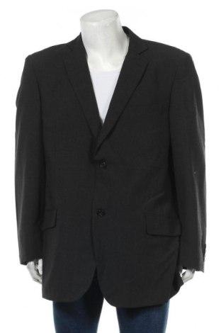 Мъжко сако Oxford Street, Размер XL, Цвят Сив, 54% полиестер, 44% вълна, 2% еластан, Цена 7,35лв.