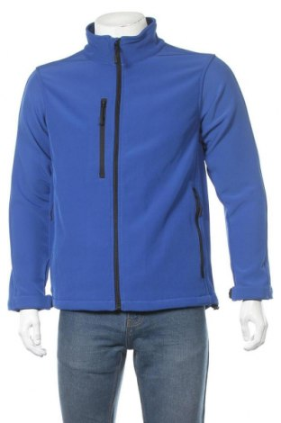 Мъжко спортно яке Kustom Kit, Размер S, Цвят Син, 96% полиестер, 4% еластан, Цена 89,25лв.