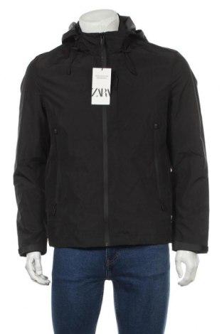 Pánská sportovní bunda  Zara, Velikost M, Barva Černá, Polyester, Cena  490,00Kč