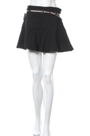 Пола - панталон Zara, Размер L, Цвят Черен, Полиестер, Цена 12,42лв.