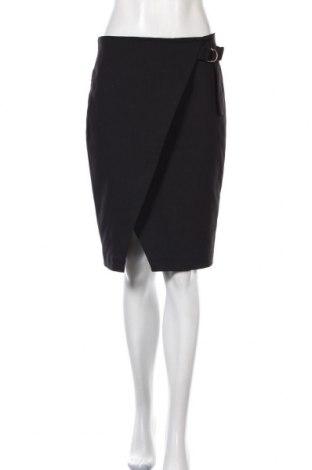 Пола Mohito, Размер M, Цвят Черен, 53% памук, 42% полиестер, 5% еластан, Цена 24,00лв.